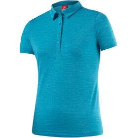 Löffler Merino - T-Shirt Femme - bleu